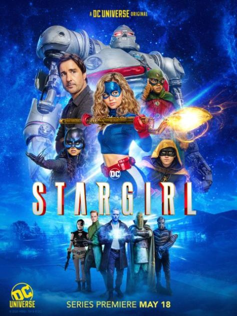 television posters, promotional posters, dc universe, stargirl, stargirl posters