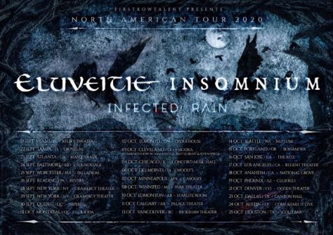 tour posters, eluveitie, eluveitie tour posters, nuclear blast records