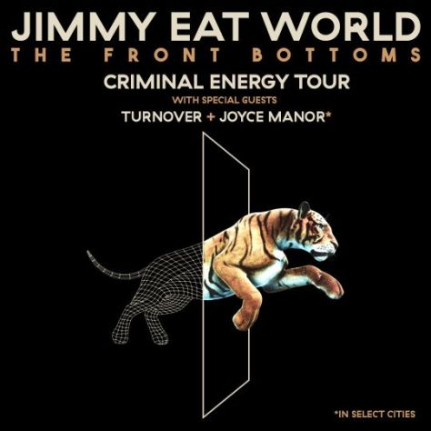 tour posters, promotional posters, jimmy eat world, jimmy eat world tour posters