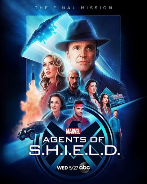 television posters, promotional posters, marvel television, marvel's agents of shield