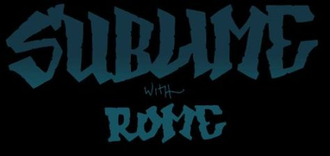 sublime with rome logo