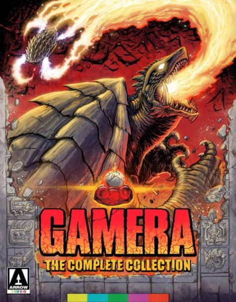 video covers, arrow video covers, gamera