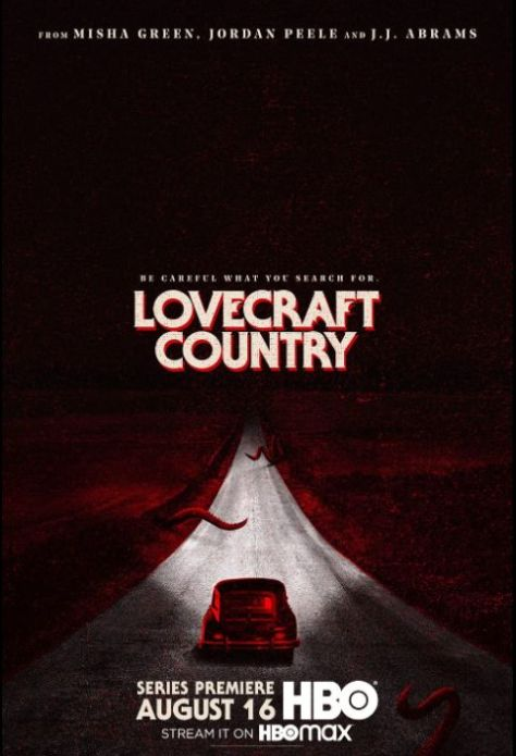 television posters, promotional posters, warner brothers television, hbo max, lovecraft country