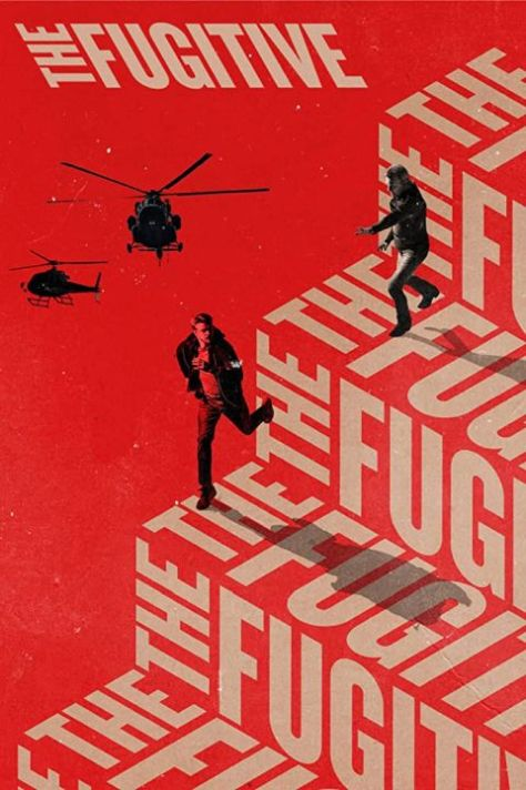 television posters, promotional posters, warner brothers television, quibi, the fugitive