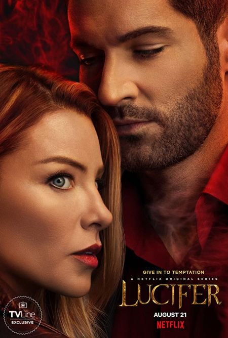 television posters, promotional posters, lucifer, netflix original