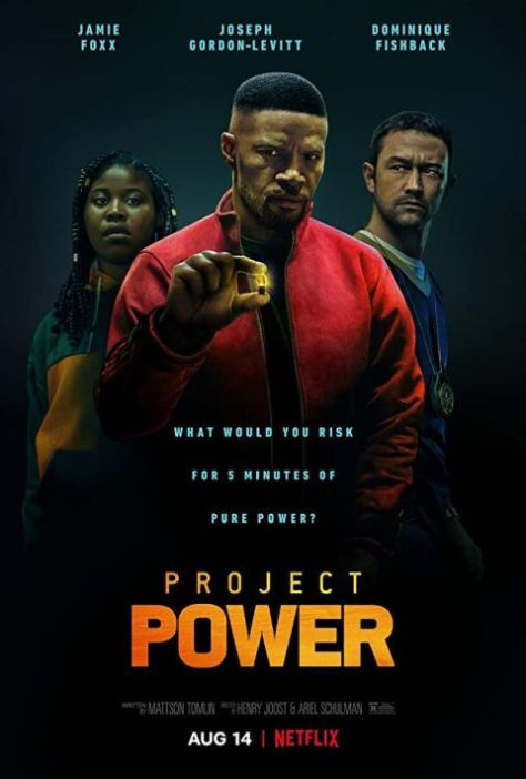 movie posters, promotional posters, project power, project power posters