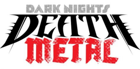dark nights: death metal logo, dc comics, dc entertainment