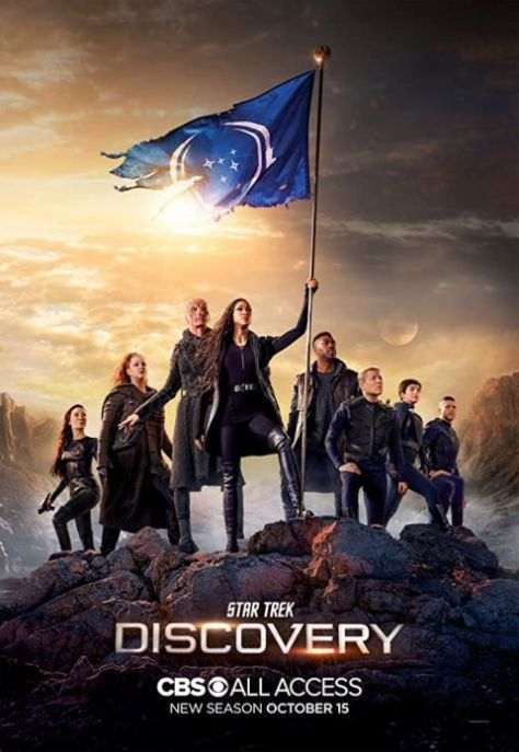 television posters, promotional posters, cbs all access, cbs television studios, star trek discovery, star trek discovery posters