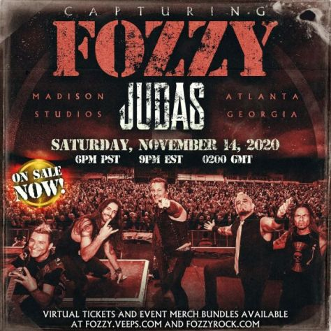 event posters, fozzy, fozzy event posters, century media records