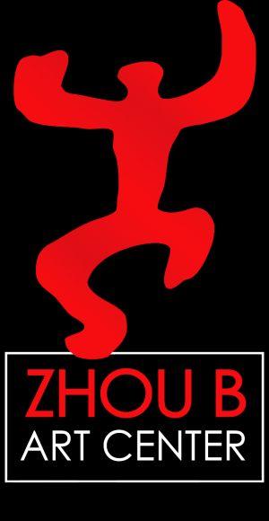 zhou b art center logo