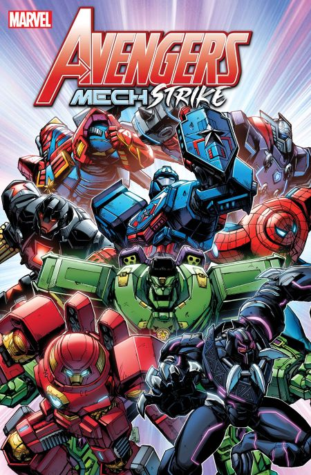comic book covers, marvel comics, marvel entertainment, avengers, avengers mech strike