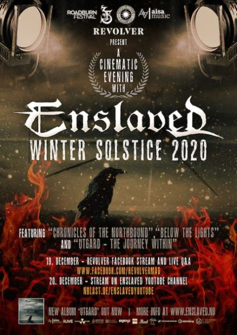 enslaved, enslaved posters, nuclear blast records