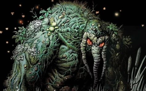 marvel comics, marvel entertainment, man-thing