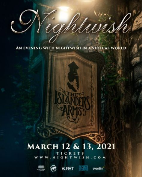 nightwish, event posters, nightwish event posters, nuclear blast records
