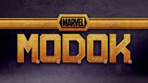 marvel's modok tv logo, marvel entertainment