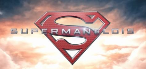 superman and lois tv logo, warner brothers television, the cw network