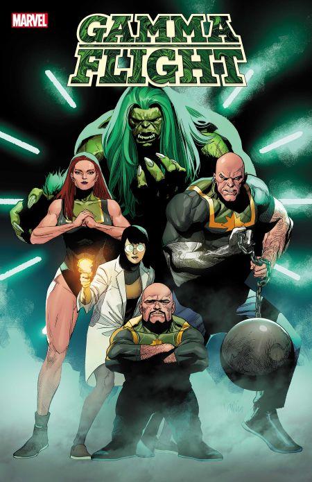 comic book covers, marvel comics, marvel entertainment, gamma flight