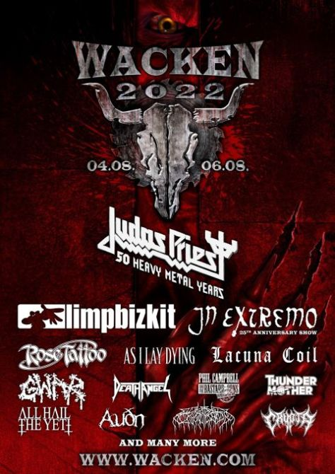 festival posters, promotional posters, wacken open air festival