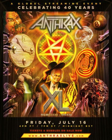 concert posters, promotional posters, anthrax, anthrax posters