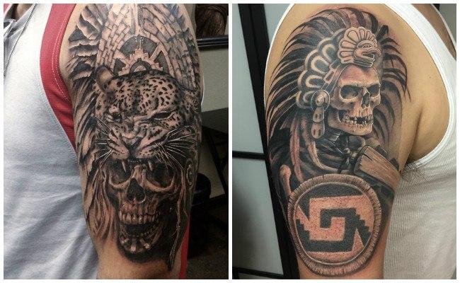 Tatuajes Piramides Aztecas Frasesparatatuajesclub