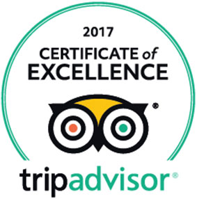 Pier Hotel Rhyl - Trip Advisor 2017 Certificate of Excellence