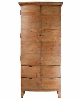 armoires et penderies en bois recycle