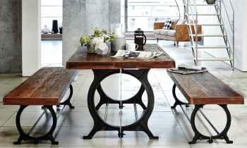 tables a manger industrielles rondes