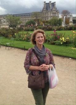 Marsha at Tuilleries