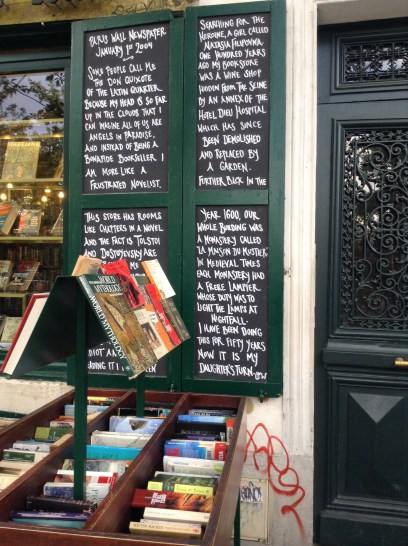 At Shakespeare & Co