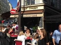 Lunch near Sacre Coeur
