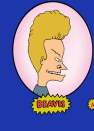Beavus looks like our napkin