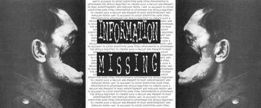 Information Missing by Pier Marton (detail)