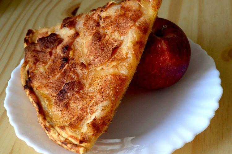 tarte aux pommmes, pommes carameilisées,