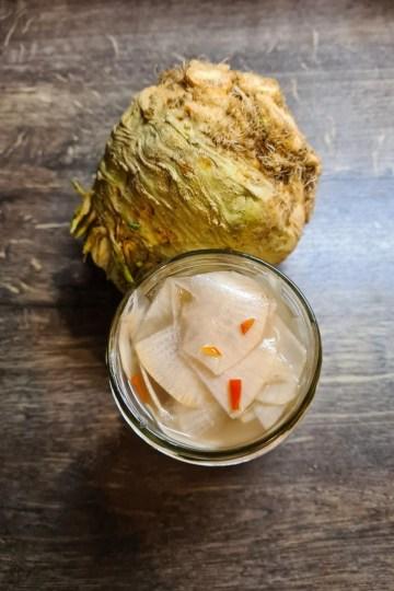 rutabaga fermenté
