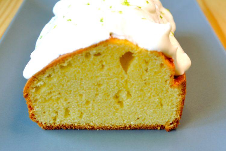 cake, gateau, au citron, chantilly