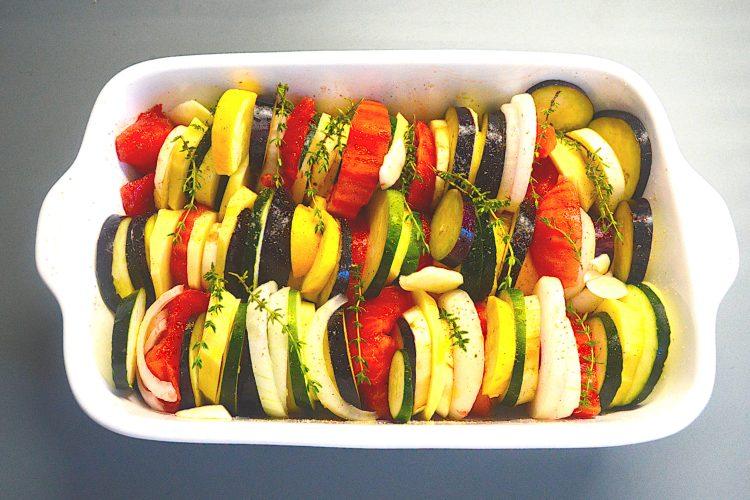 zapiekanka warzywna, tian, przepisy francuskie