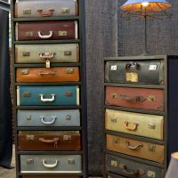Inspiration: Suitcase Dresser