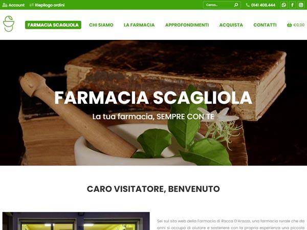 ecommerce farmacia Scagliola - Home Slider