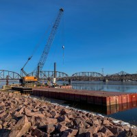 Barges and crane_2.19.21