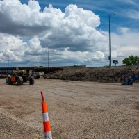 Fort Pierre excavated and leveled for approach work_6.27.21