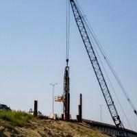 Crane and pile hammer_8.23.21