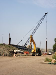 Crews working on the Pierre side_8.3.21