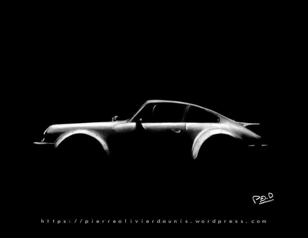 Tableau de Porsche . porsche painting