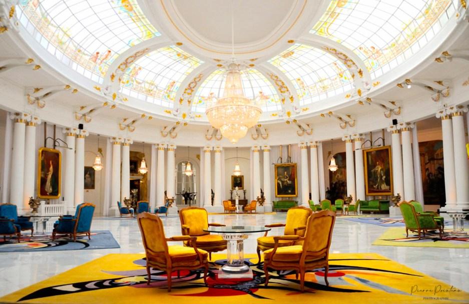 Photo du hall de l'Hôtel Negresco.