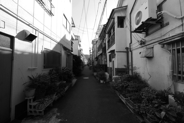 大阪 大正区 ドラマ悪夢ロケ地(真と光司のラストシーンの路地)