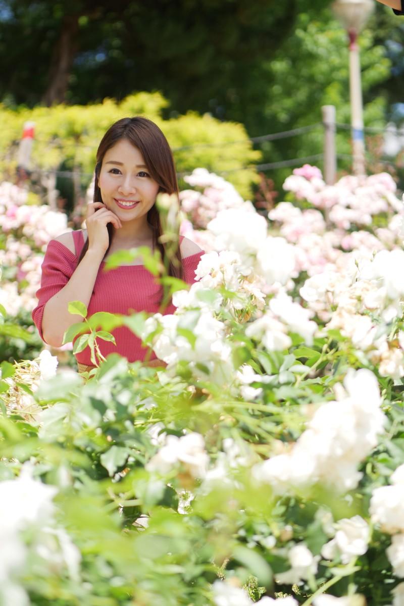 大阪 靭公園 モデル:鵜飼りえちゃん