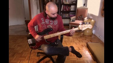 Martika   Toy Soldiers Bass cover Fender precision 1977:1978
