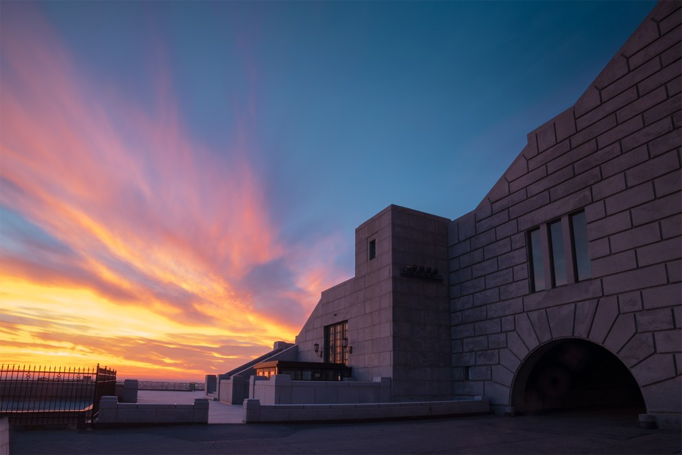 oratoire_saint_joseph_mont_royal_sunset_south_stairs_may_2015