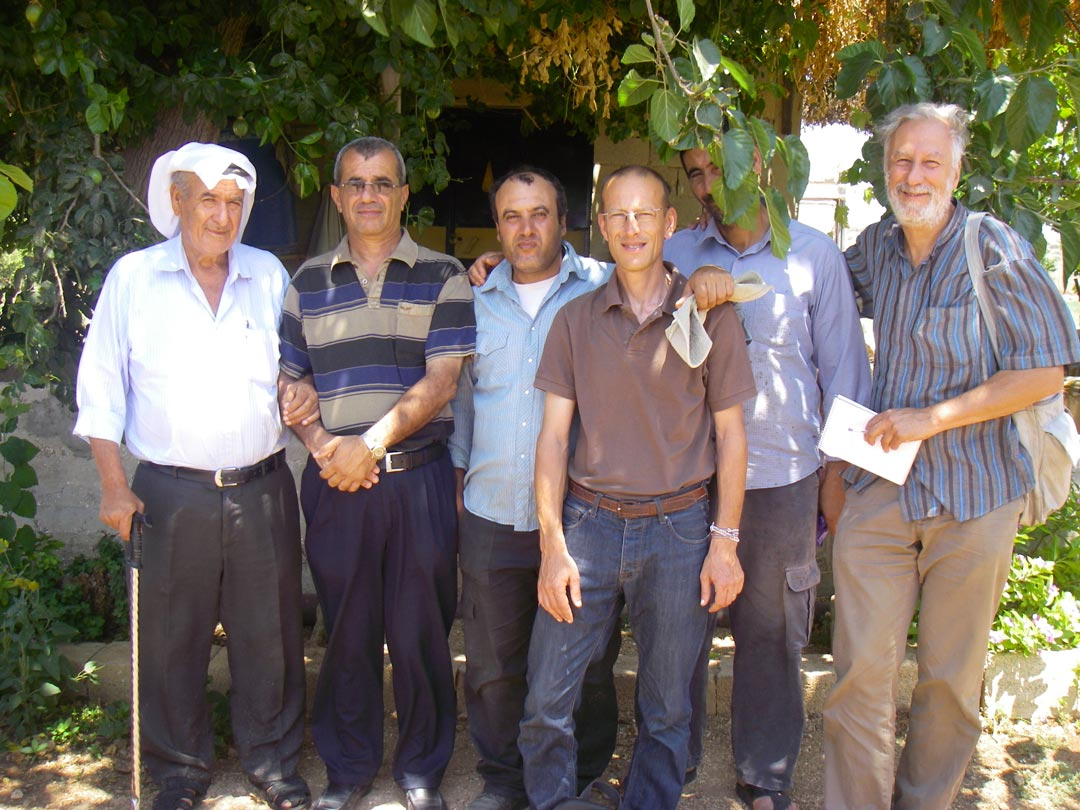 Tulkarem, Palestine, retrouvailles avec les paysans formés en France en 1994