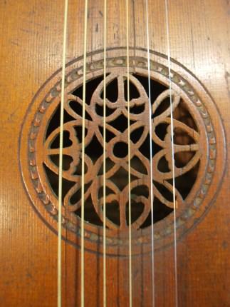 roseta guitar laud